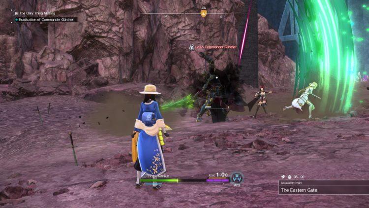 Sword Art Online Alicization Lycoris Commander Gunther Boss Fight Guide Dark Knights 5a