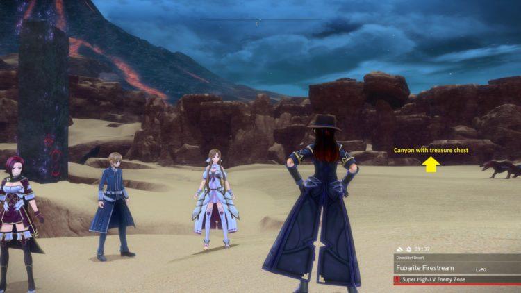 Sword Art Online Alicization Lycoris Earthfang The Lost Divine Beast Monolith Deusoldort Desert Vizeah Valley 1a1