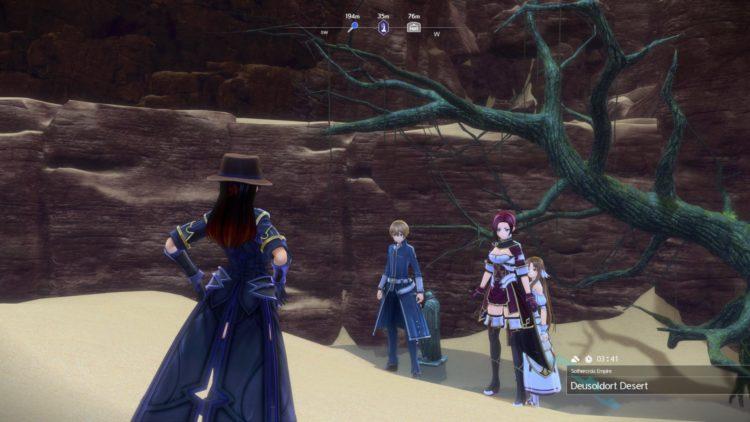 Sword Art Online Alicization Lycoris Earthfang The Lost Divine Beast Monolith Deusoldort Desert Vizeah Valley 1c
