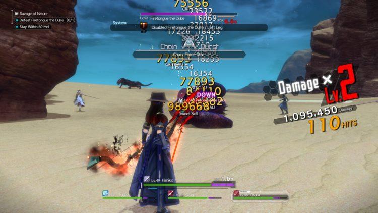 Sword Art Online Alicization Lycoris Earthfang The Lost Divine Beast Monolith Deusoldort Desert Vizeah Valley 2a