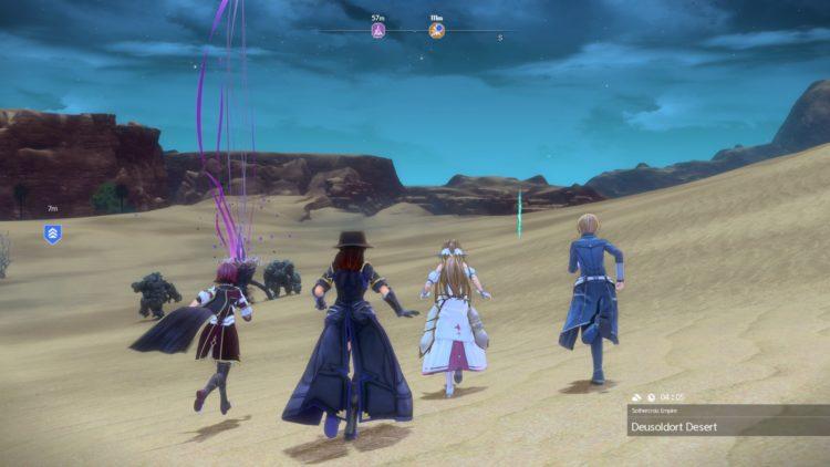 Sword Art Online Alicization Lycoris Earthfang The Lost Divine Beast Monolith Deusoldort Desert Vizeah Valley 3a