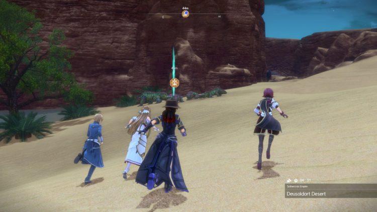 Sword Art Online Alicization Lycoris Earthfang The Lost Divine Beast Monolith Deusoldort Desert Vizeah Valley 4a