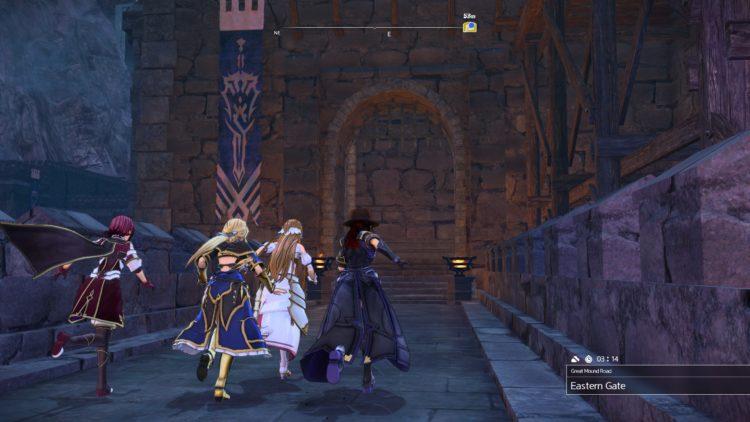 Sword Art Online Alicization Lycoris Eastavarieth Great Mound Road Golden Treasure Chests 3c