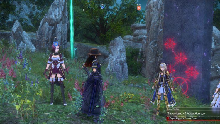 Sword Art Online Alicization Lycoris Flashfang The Ancient Divine Beast Monolith Lodend Mountains 1c