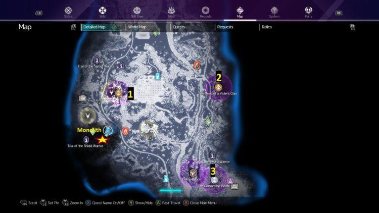 Sword Art Online Alicization Lycoris Flashfang The Ancient Divine Beast Monolith Lodend Mountains 2a1e