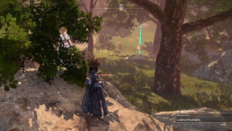 Sword Art Online Alicization Lycoris Flashfang The Ancient Divine Beast Monolith Lodend Mountains 2b