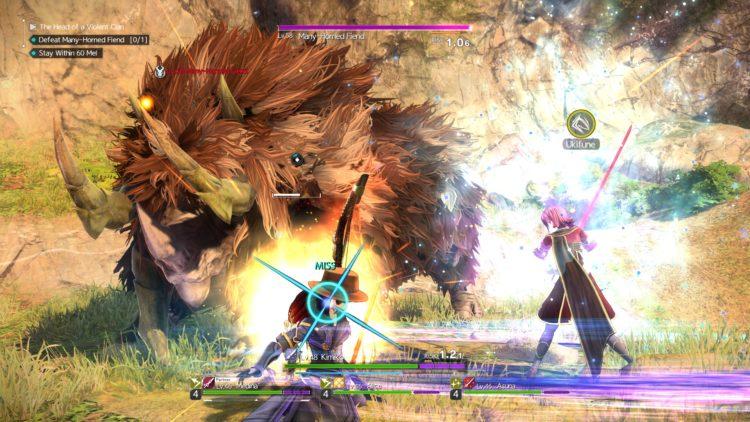 Sword Art Online Alicization Lycoris Flashfang The Ancient Divine Beast Monolith Lodend Mountains 3b