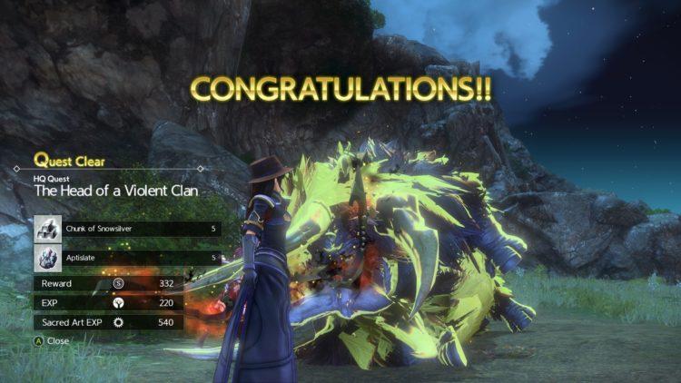 Sword Art Online Alicization Lycoris Flashfang The Ancient Divine Beast Monolith Lodend Mountains 3c