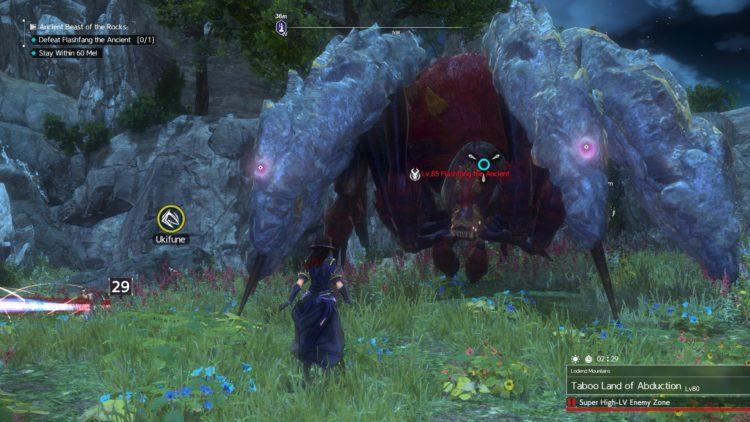 Sword Art Online Alicization Lycoris Flashfang The Ancient Divine Beast Monolith Lodend Mountains 5b