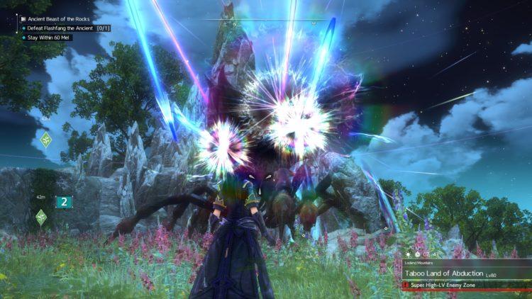 Sword Art Online Alicization Lycoris Flashfang The Ancient Divine Beast Monolith Lodend Mountains 5c
