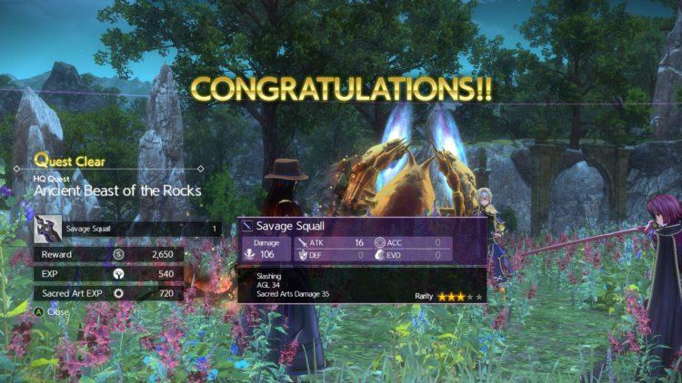 Sword Art Online Alicization Lycoris Flashfang The Ancient Divine Beast Monolith Lodend Mountains 5e
