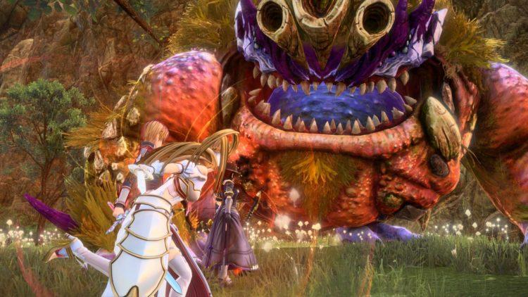 Sword Art Online Alicization Lycoris Godhorn The Abominable Divine Beast Guide Monolith Treitis Pass Boss 2