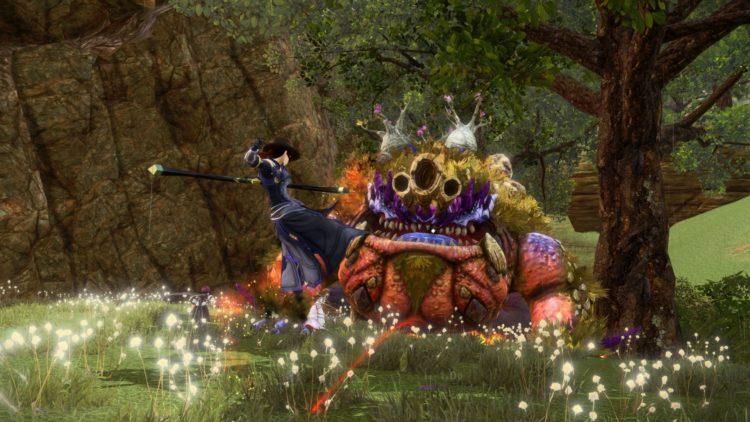 Sword Art Online Alicization Lycoris Godhorn The Abominable Divine Beast Guide Monolith Treitis Pass Boss 3