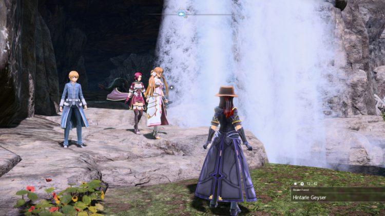 Sword Art Online Alicization Lycoris Greeneye The Absent Divine Beast Rivalier Forest Sustnel Mountains Monolith 1b