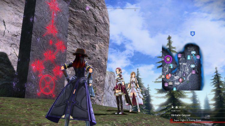 Sword Art Online Alicization Lycoris Greeneye The Absent Divine Beast Rivalier Forest Sustnel Mountains Monolith 1c