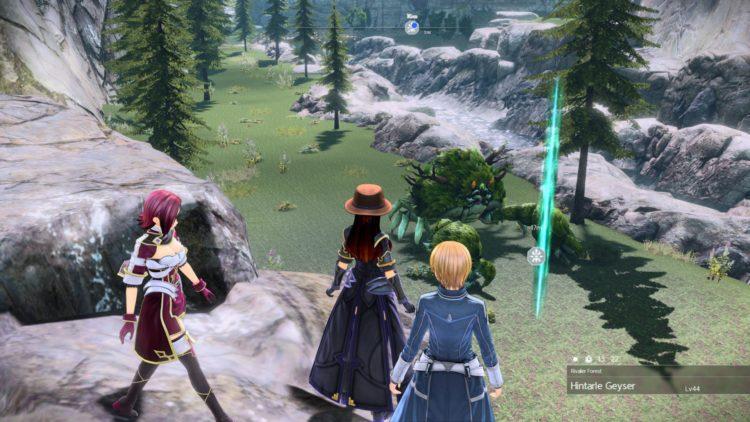 Sword Art Online Alicization Lycoris Greeneye The Absent Divine Beast Rivalier Forest Sustnel Mountains Monolith 2b