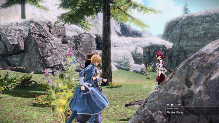 Sword Art Online Alicization Lycoris Greeneye The Absent Divine Beast Rivalier Forest Sustnel Mountains Monolith 3a