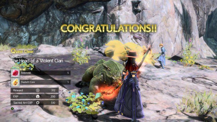 Sword Art Online Alicization Lycoris Greeneye The Absent Divine Beast Rivalier Forest Sustnel Mountains Monolith 3b