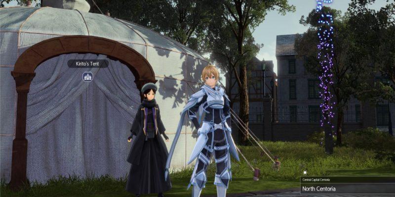 Sword Art Online Alicization Lycoris Kirito's Hut Customize Character Change Appearance Cosmetic Transmog Visualize Attire