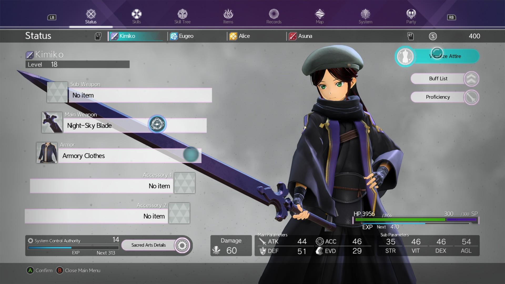Sword Art Online: Alicization Lycoris - Customizing Kirito and finding new  costumes