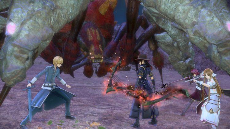 Sword Art Online Alicization Lycoris Lightseeker The Divine Divine Beast Guide Monolith Minelda Rocks 4b