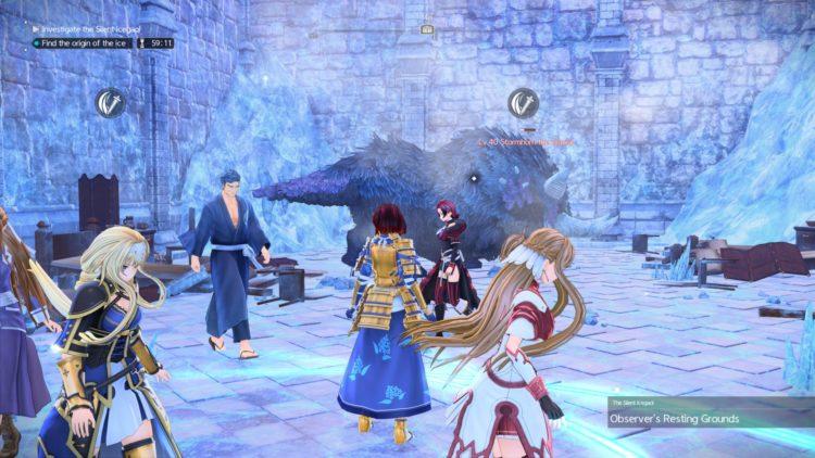 Sword Art Online Alicization Lycoris Silent Icegaol Raid Dungeon Guide Boss Loot 1c