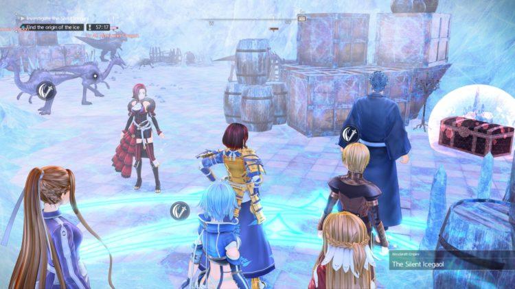 Sword Art Online Alicization Lycoris Silent Icegaol Raid Dungeon Guide Boss Loot 1d