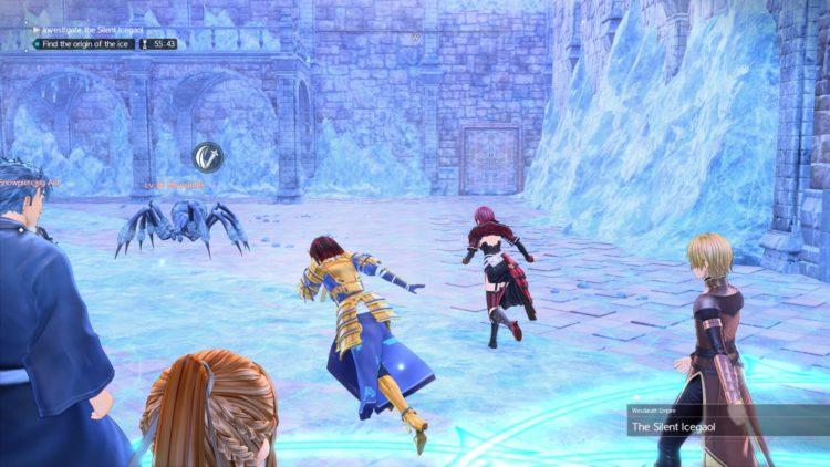 Sword Art Online Alicization Lycoris Silent Icegaol Raid Dungeon Guide Boss Loot 1e