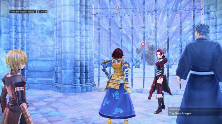 Sword Art Online Alicization Lycoris Silent Icegaol Raid Dungeon Guide Boss Loot 1f
