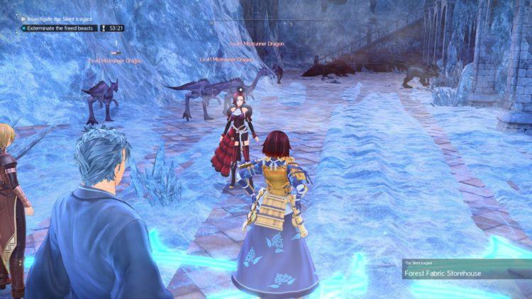Sword Art Online Alicization Lycoris Silent Icegaol Raid Dungeon Guide Boss Loot 1h