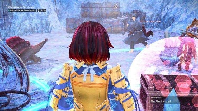 Sword Art Online Alicization Lycoris Silent Icegaol Raid Dungeon Guide Boss Loot 1i