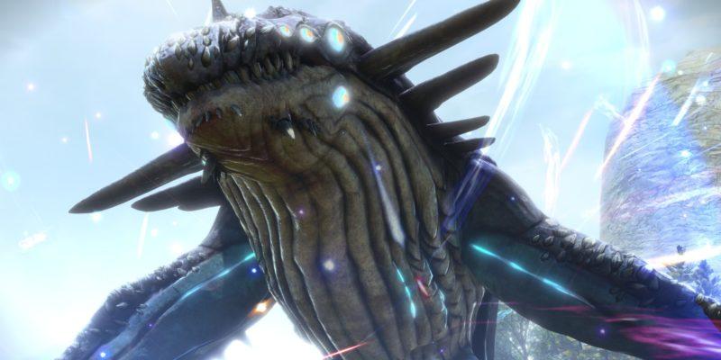 Sword Art Online Alicization Lycoris Skycrawl The Monstrous Divine Beast Monolith Raubal Greenbelt