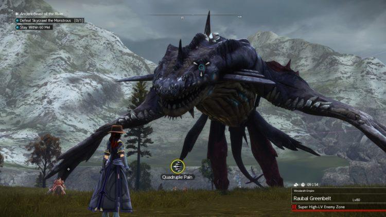 Sword Art Online Alicization Lycoris Skycrawl The Monstrous Divine Beast Monolith Raubal Greenbelt 5a