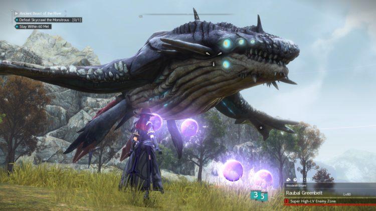 Sword Art Online Alicization Lycoris Skycrawl The Monstrous Divine Beast Monolith Raubal Greenbelt 5b