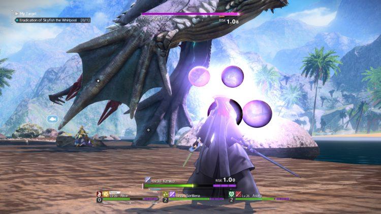 Sword Art Online Alicization Lycoris Skyfish The Whirlpool Boss Fight Guide 2