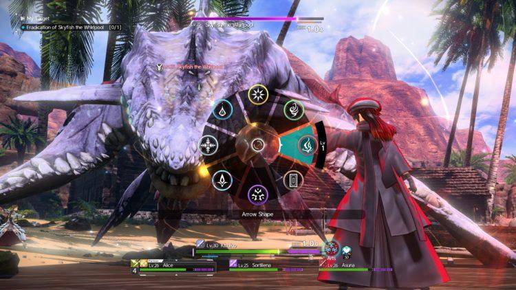 Sword Art Online Alicization Lycoris Skyfish The Whirlpool Boss Fight Guide 4