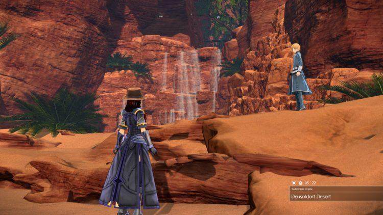 Sword Art Online Alicization Lycoris Sothercrois Golden Treasure Chests Warmia Greenbelt Vizeah Valley Deusoldort Desert 3b