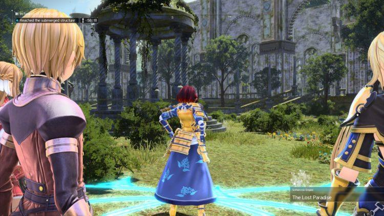 Sword Art Online Alicization Lycoris The Lost Paradise Raid Dungeon Guide Loot Bosses 3
