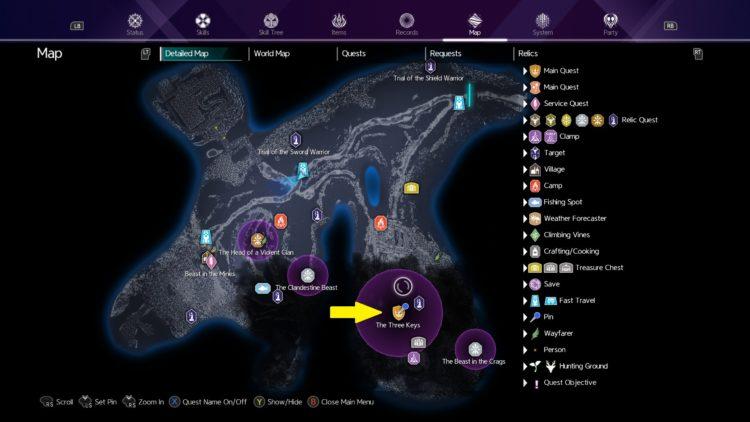 Sword Art Online Alicization Lycoris The Three Keys Main Quest Drugo's Temple 1a