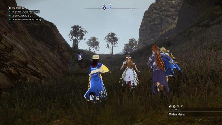 Sword Art Online Alicization Lycoris The Three Keys Main Quest Drugo's Temple 2c