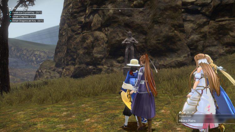 Sword Art Online Alicization Lycoris The Three Keys Main Quest Drugo's Temple 2d