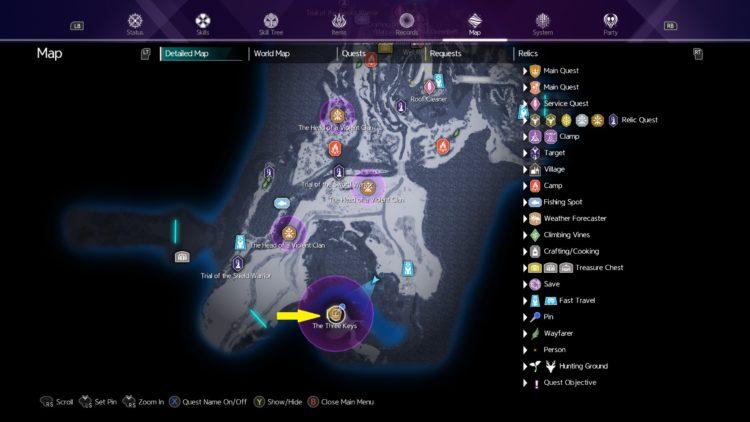 Sword Art Online Alicization Lycoris The Three Keys Main Quest Drugo's Temple 3a