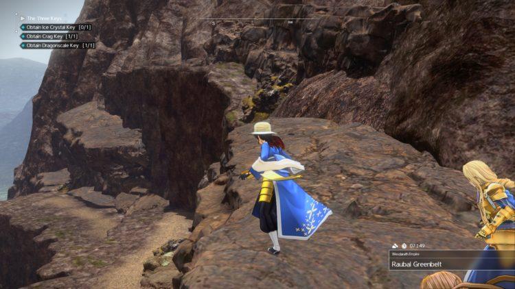Sword Art Online Alicization Lycoris The Three Keys Main Quest Drugo's Temple 3d