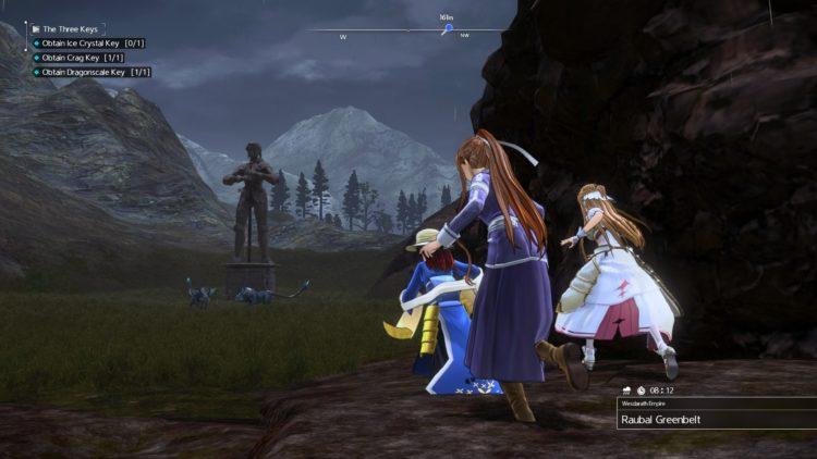 Sword Art Online Alicization Lycoris The Three Keys Main Quest Drugo's Temple 3e