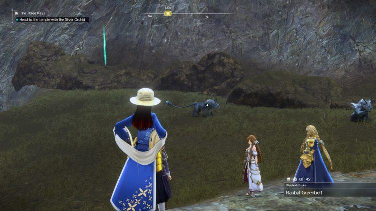 Sword Art Online Alicization Lycoris The Three Keys Main Quest Drugo's Temple 3f