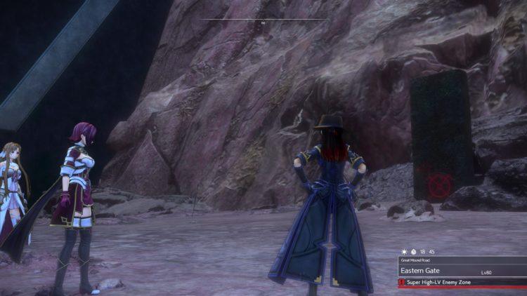 Sword Art Online Alicization Lycoris Thundertail The Vicious Divine Beast Monolith Eastern Gate Great Mound Road 1b