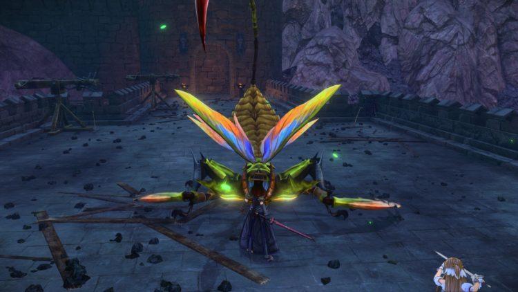 Sword Art Online Alicization Lycoris Thundertail The Vicious Divine Beast Monolith Eastern Gate Great Mound Road 2b
