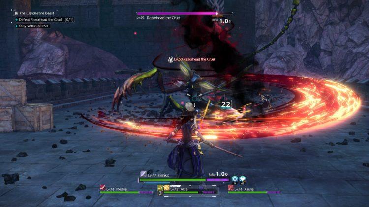Sword Art Online Alicization Lycoris Thundertail The Vicious Divine Beast Monolith Eastern Gate Great Mound Road 2c