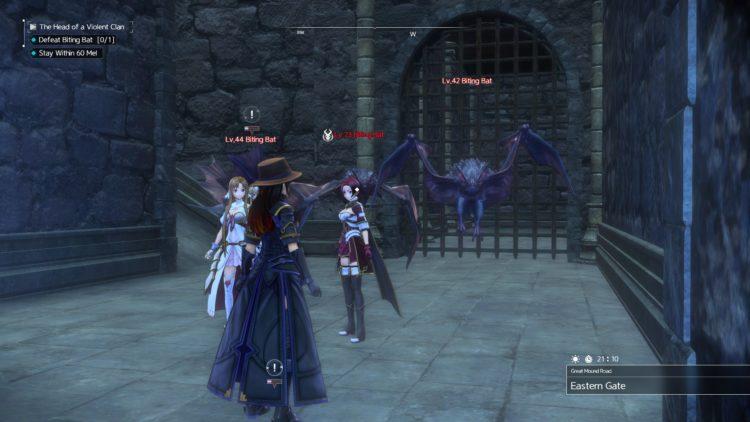 Sword Art Online Alicization Lycoris Thundertail The Vicious Divine Beast Monolith Eastern Gate Great Mound Road 3c