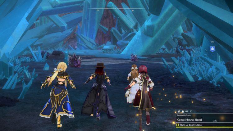 Sword Art Online Alicization Lycoris Thundertail The Vicious Divine Beast Monolith Eastern Gate Great Mound Road 4c